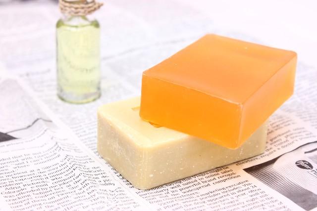 石鹸シャンプー用の固形せっけん